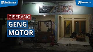 Kedai Riri Sepi Pengunjung seusai Diserang Komplotan Geng Motor