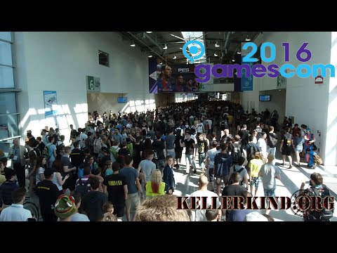 Gamescom 2016 - Der zweite Tag - Kellerkind.org ON TOUR