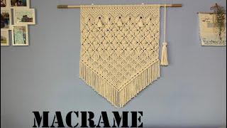 DIY Macrame Wall Hanging / 마크라메 월행잉 -#23