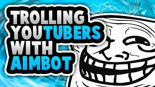 Trolling YouTubers With Aimbot | Phantom Forces [Modded]