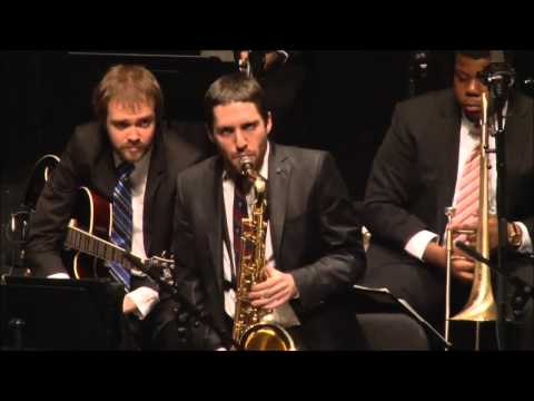 Dean Tsur with The Juilliard Jazz Orchestra