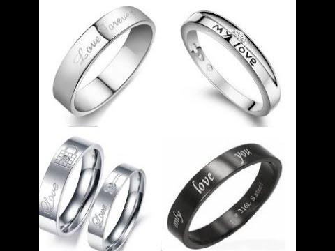 engraved promise rings for men review