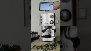 Italian espresso using pressure profiles