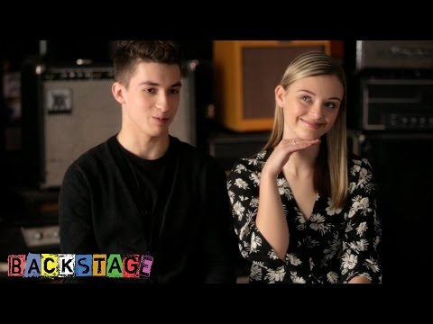Miles and Alya | Behind the Scenes | Backstage | Disney Channel