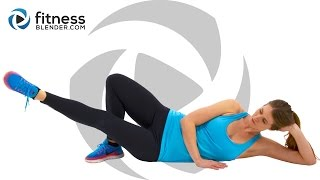 No Equipment 10 Minute Butt and Thigh Workout at Home by FitnessBlender