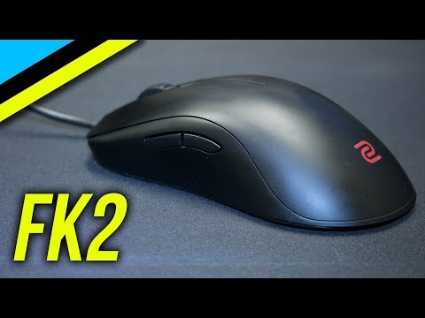 BenQ Zowie FK2 Review | The Best Gaming Mouse For FPS Players?