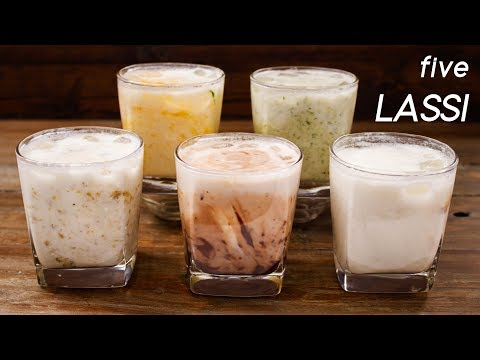 5 Lassi Recipes – Easy and Different Summer Drink Flavors – CookingShooking
