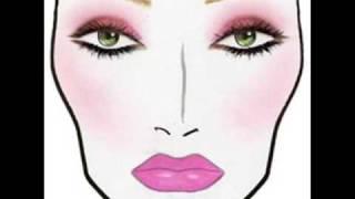 MAC Face Charts 2008
