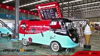 Customized Design Electric Ice Cream Cart Fast Food Truck
