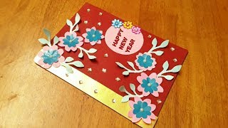 diy new year greeting card making ideas how to new year card handmade