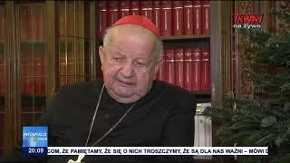 Kardynał Dziwisz: Przebaczam mojej ojczyźnie.