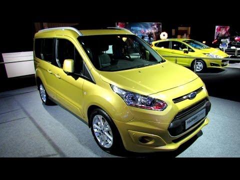 Ford  Tourneo  Connect Минивен класса M - рекламное видео 3