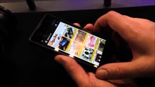 ロシア製2画面スマホ「YotaPhone」でGIGAZINEを表示してみた