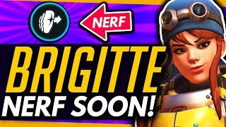 Overwatch | Brigitte NERF Details - Mercy is Good Now?! + Weird Winston Change!