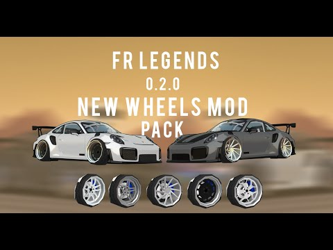 FR Legends MOD Porsche 911 GT2 RS !!!- ALL KITS REPLACED