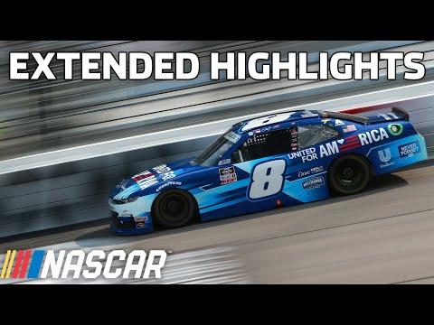 NASCAR オートパーツ 400(リッチモンド・レースウェイ)Xfinityクラスのハイライト動画