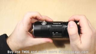 Nitecore TM06 Tiny Monster Flashlight Extended Review
