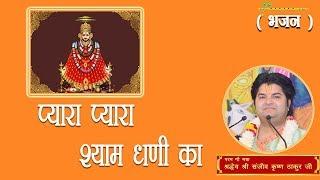 Pyara Pyara Shyam Dhani Ka || Shri Sanjeev Krishna Thakur Ji