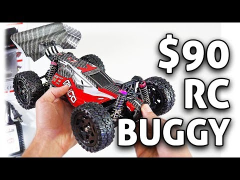 $90 RC Car! Cheerwing Dingo 4WD 1/16th Buggy REVIEW