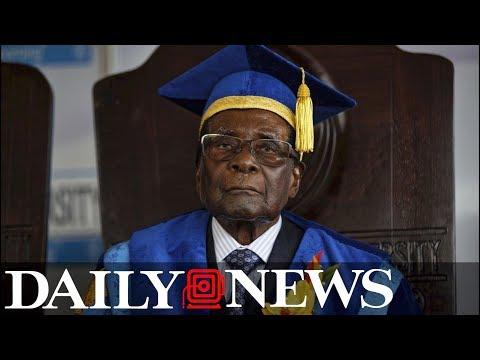 Zimbabwe's President Robert Mugabe resigns after 37 years in power