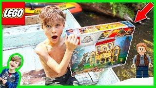 LEGO SET STOLEN By POND MONSTER! (JURASSIC WORLD)