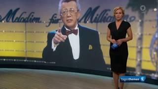 Mister Hitparade Dieter Thomas Heck Ist Tot