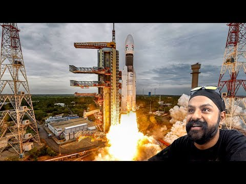 Footage of the Chandrayaan 2 launch