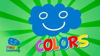 Colors for Children. Learn the Colors in English and Spanish