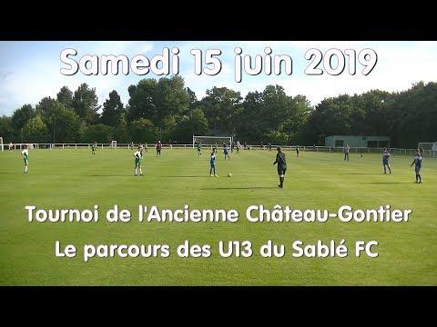 les u13 au tournoi de Château-Gontier