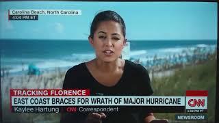 Ураган Florence идет на США.  Эвакуация 245000 человек в Америке. Пустые полки в магазинах США.