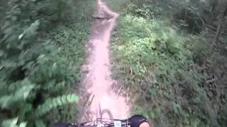 Trails 2b, 3, 4a and 5 at Kickapoo State Park-Go Pro Helmet cam
