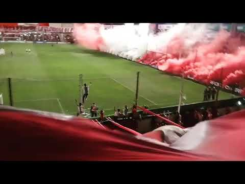 """Recibimiento de INSTITUTO vs tigre..."" Barra: Los Capangas • Club: Instituto"