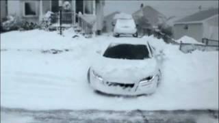 Смотреть онлайн Для Ауди самые высокие снежные сугробы – не проблема!