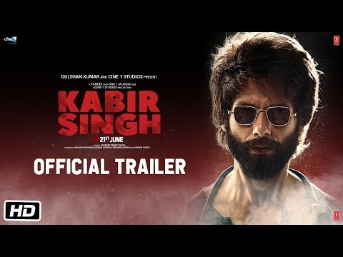 Actor Shahid Kapoor Kabir Singh Movie Official Trailer