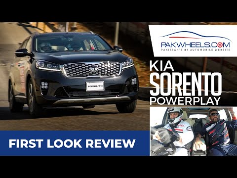 KIA Sorento 2021 | KIA Power Play | First Look Review | PakWheels
