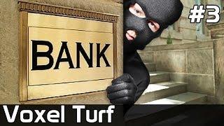 Voxel Turf Po Polsku [#3] Wbijamy na BANK /z Plaga