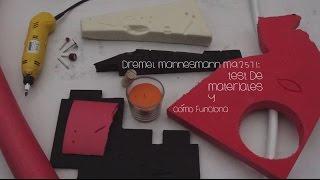Dremel mannesmann m92571: Test de materiales y cómo funciona [Español]
