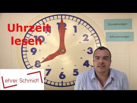 Uhr lesen - Uhrzeit | Sachunterricht - Zeit | Lehrerschmidt