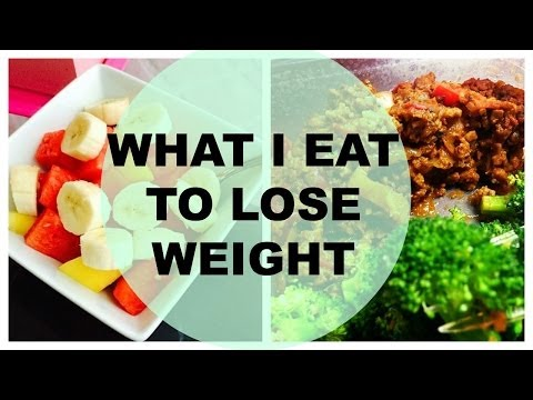 Video What I Ate To Lose 30 Pounds Fast