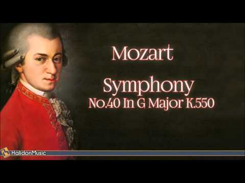Mozart: Symphony No. 40 in G Minor, K. 550 | Classical Music