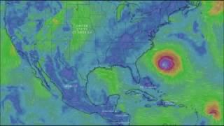 Угроза Америке: Сильнейший ураган Флоренс приближается к берегам Америки.
