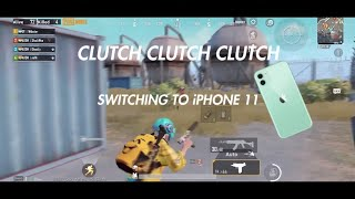 Playing on my new iPhone 11 | Short Montage | PUBG Mobile