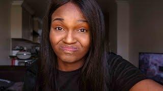 No Mirror Makeup Challenge | Buhle Lupindo