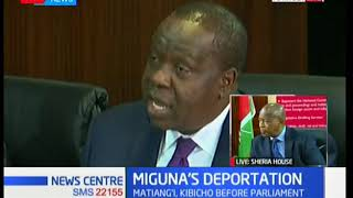 CS Fred Matiang'i: We didn't appear before the High Court because we were at the GSU parade