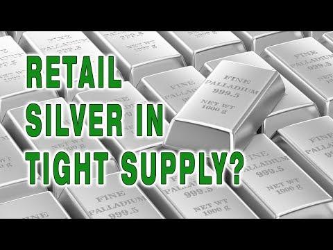 The Morgan Report: Retail Silver In Tight Supply?
