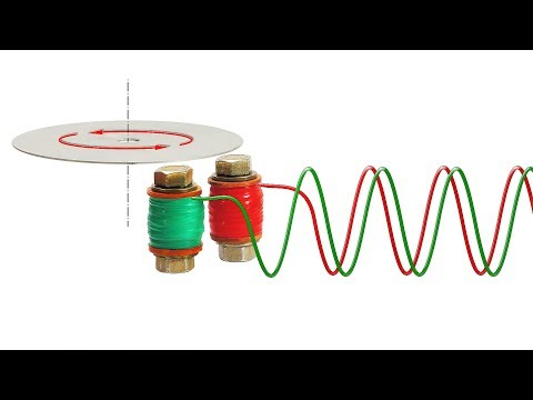 Amazing Drag-Cup Induction Motor - DIY