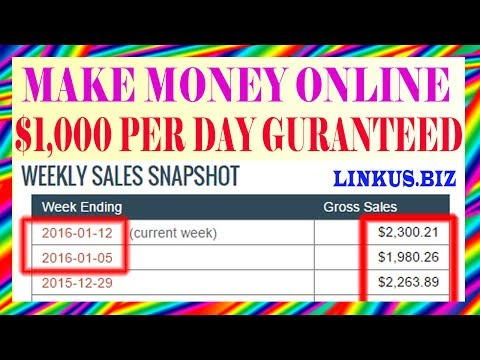 How To Make Money Online Fast From Home 2017 – Secret Invest For Beginners [$1,000 Per Day]