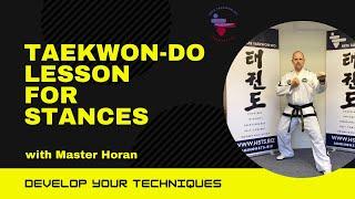 30min lesson on stances