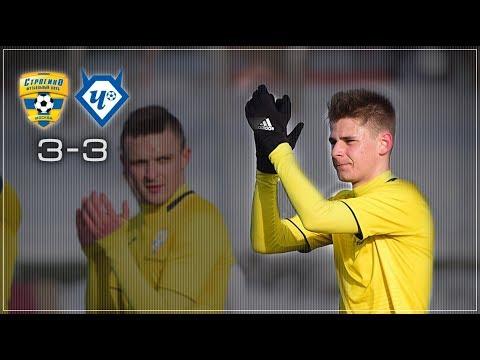 Строгино - Чертаново-2 - 3:3 / Тов. матч / Обзор