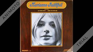MARIANNE FAITHFULL marianne faithfull Side one